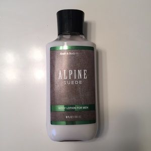 Bath and Body Works Other - Bath and Body Works Alpine Suede Men's Lotion NWT